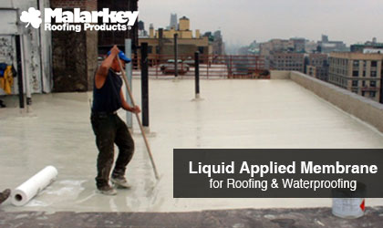 Webinar & Lunch and Learn Malarkey Roofing Products-AIA-HSW-Liquid Applied Membrane-Roofing & Waterproofing