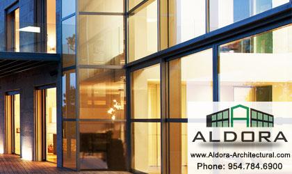 Aldora Aluminum-webinar-HSW-Glass-Pre-glazed Impact Storefront-hurricane-resistant