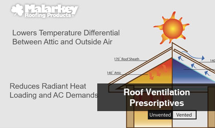 Webinar & Lunch and Learn Malarkey Roofing Products-AIA-HSW-Roof Ventilation